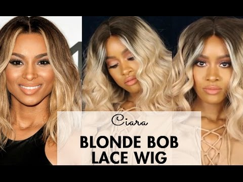 Ciara inspired blonde bob lace wig by sassy secret youtube urmus Image collections