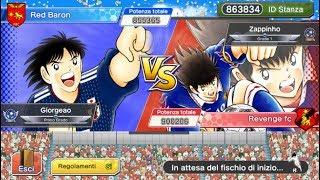 Ortega's Cup quarti di finale : Giorgio VS. Alberto ( Captain Tsubasa Dream Team )