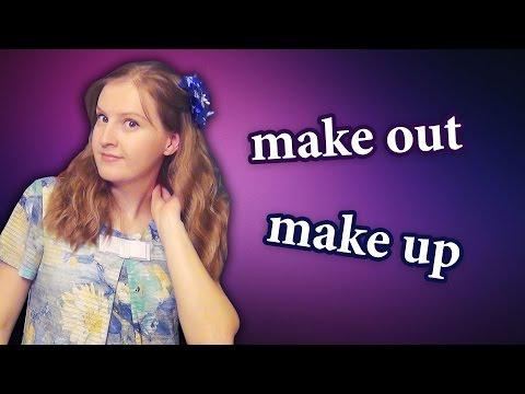 English phrasal verbs - make out, make up - MAKE part 2