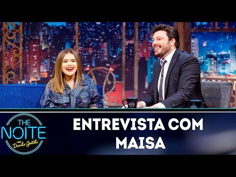 Entrevista com Maisa  The Noite 130319