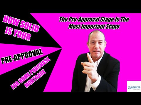 how-solid-is-your-pre-approval-for-home-purchase-mortgage