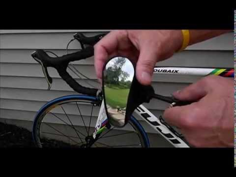Review Of Ultra Light Bike Mirror By D D Oberlauda Youtube
