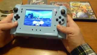 Ultimate home made Sony Playstation 2 Slim PS2 PSone portable handheld (Part 4)