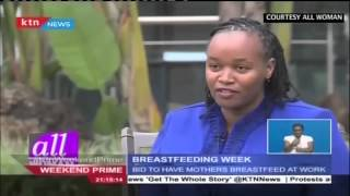 Kenya marks World Breast Feeding Week: Women are urged to breast feed in offices
