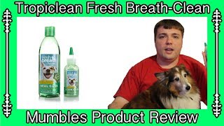 Tropiclean Fresh Breath Dental Kit for Pets || Mumbles Product Review