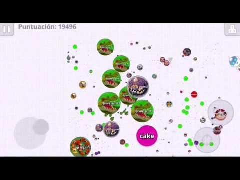 !Agar.io-39k-Top #1-Team domination!