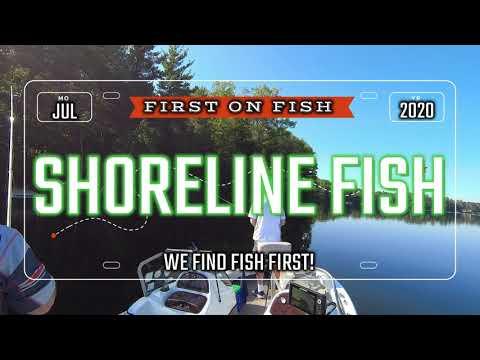 Shoreline Fishing Action First On Fish Hayward Wisconsin #7