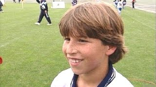 Sergio Ramos de niño y otros alevines de lujo del fútbol andaluz