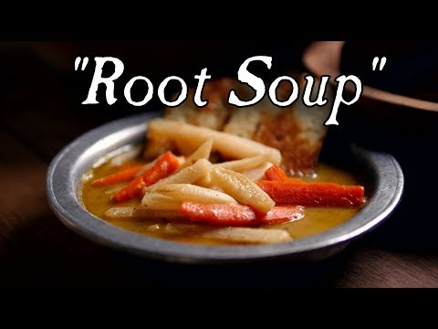 Historic German, Root Vegetable Soup