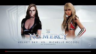 WWE 2K18 - Velvet Sky VS Michelle McCool