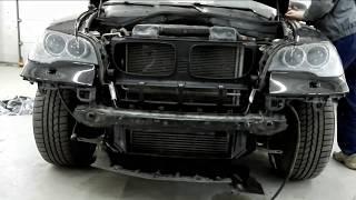 видео Кузовной ремонт БМВ, покраска БМВ