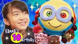 Kanna's 10th birthday  かんな10歳バースデー