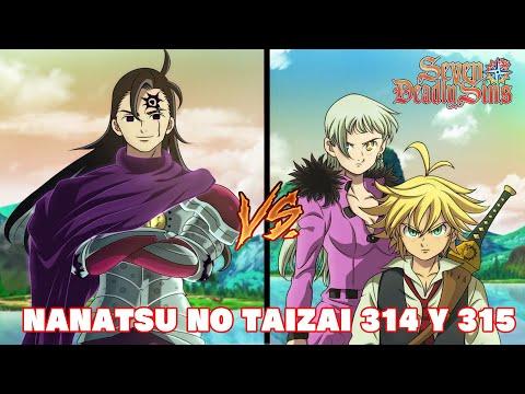 Nanatsu No Taizai 314 Y 315 Reaction Meliodas Y Elizabeth ...