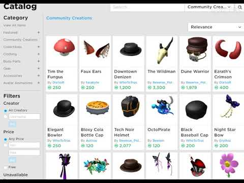 Community Creations Is Here On Roblox Catalog Youtube