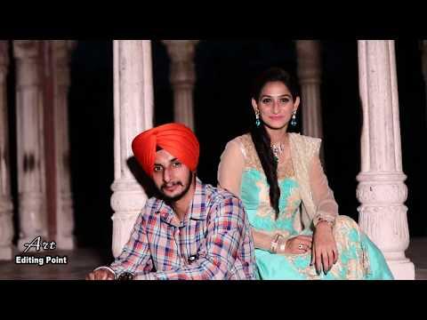 "BEST PREWEDDINGRICKY MALHI & HARKIRAT ""Jinna Tera Main Kardi"" Punjabi Song 2017"