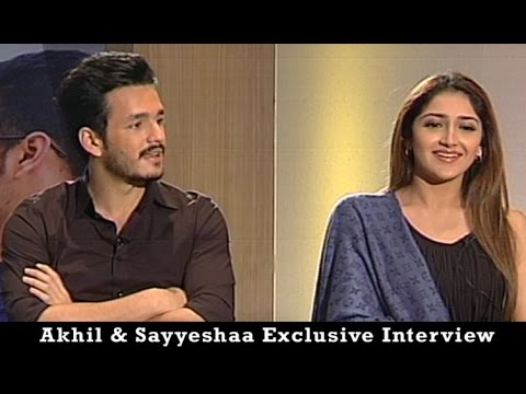 Akhil Akkineni and Sayesha Saigal Exclusive Interview | Akhil the power of JUA | Vanitha TV