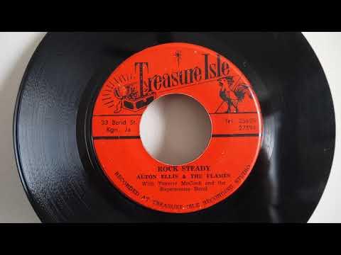 Alton Ellis - Rock Steady  / Tommy McCook -  Wall Street Shuffle -  Treasure Isle –  Rocksteady