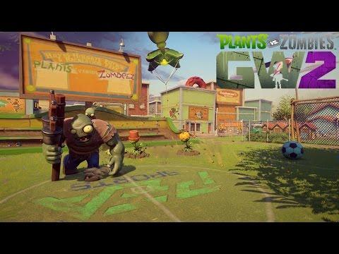 Plants vs. Zombies Garden Warfare 2: Backyard Battleground Gameplay Reveal