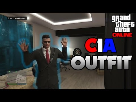 "GTA V - NEW C.I.A Uniform Glitch ""EASY"" (PS4/XBOX)"