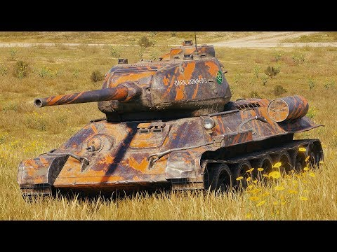 World of Tanks T-34-85M - 12 Kills 4,7K Damage thumbnail