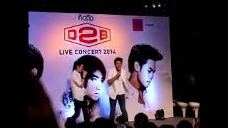 """""""ไม่มีเธอวันนั้น ไม่มีฉันวันนี้"""" แถลงข่าว D2B live concert 2014"""