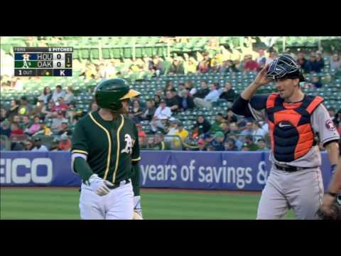 July 18, 2016-Houston Astros vs. Oakland Athletics