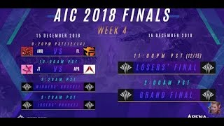 AIC 2018 - SEMIFINAL - GameZGG Official