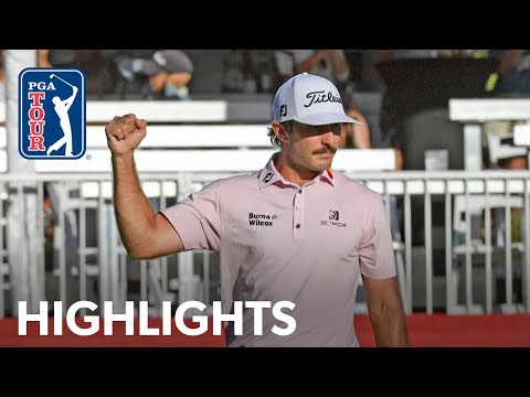 Max Homa shoots 7-under 65 | Round 4 | Fortinet | 2021