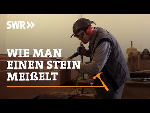 Handwerkskunst! Wie man einen Stein meielt | SWR Fernsehen