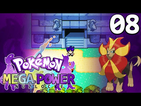 Pokemon Mega Power Nuzlocke! (Rom Hack) Walkthrough #08
