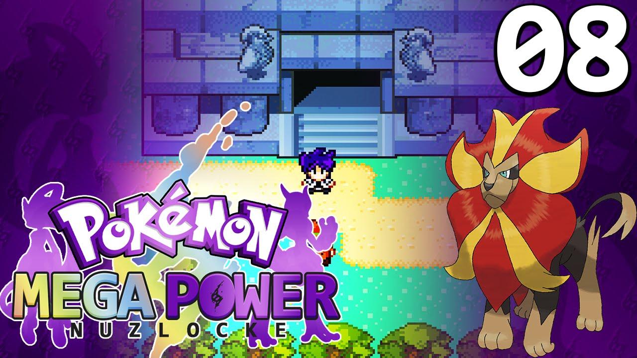 Pokemon Mega Power Nuzlocke! (Rom Hack) Walkthrough #08