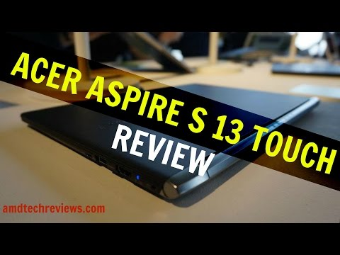 Acer Aspire S 13 Touch: Buy or Don't Buy (4K)