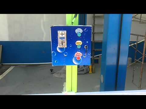 Quito auto lavado express con monedas Caupicho Tecnocont 0968654220