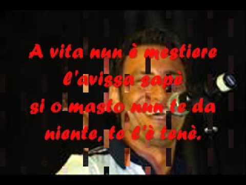 Gianluca Capozzi - Nu poco e 'cchiù + testo