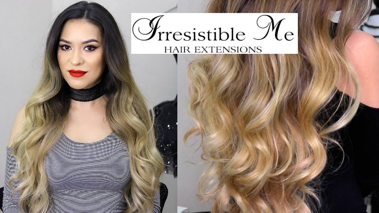 Irresistible me clip in hair extensions review demo youtube irresistible me clip in hair extensions review demo pmusecretfo Image collections