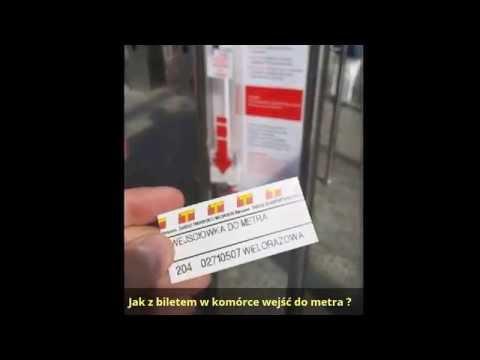 MoBILET - Jak Wejść Do Metra W Warszawie ZTM