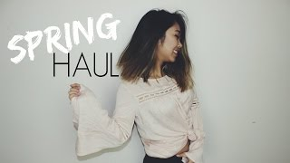 SPRING CLOTHING TRY-ON HAUL 2016