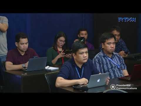 Press Briefing - Bangon Marawi 4/20/2018
