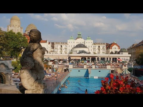 Gellert Thermal Baths Budapest Bathing in a Cathedral as it has been likened to in Art Nouveau Pools