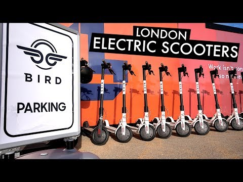 BIRD SCOOTERS LAND IN LONDON! 🇬🇧Electric Scooters Are Here 🛴