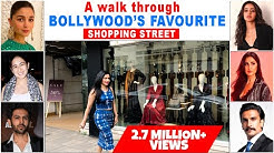 Check Out Bollywood Actor's Favourite Shopping Street in Mumbai