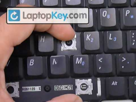replace keyboard key dell latitude d531 d610 d510 b130 fix your rh youtube com GE Washer Repair Guide KitchenAid Dishwasher Repair Guide