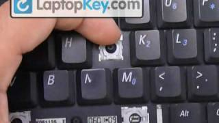 Replace Keyboard Key Dell Latitude D531 D610 D510 B130 | Fix Your Laptop Installation Repair Guide