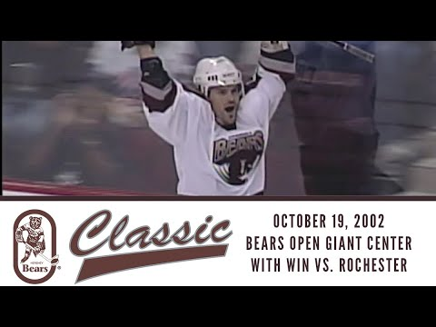 Hershey Bears Classic (October 19, 2002--First Game at Giant Center)