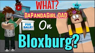 DaPandaGirl teaches ME how to Play Roblox | DaPandaDad first ever Bloxburg video
