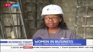 Olive Ngugi makes inroads in male-dominated construction industry as contractor | WOMEN IN BUSINESS