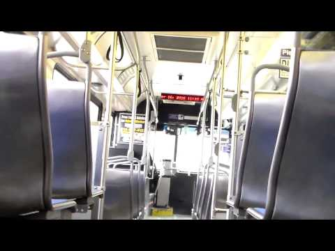 SEPTA BUS: RIDE ON NEW FLYER D40LF 5855 ON ROUTE: 114