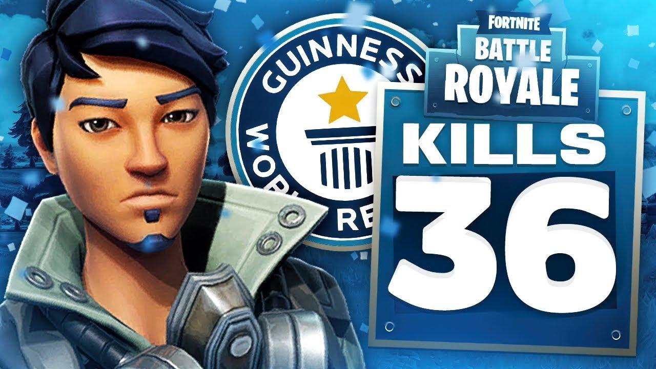 world record 36 kill duo squads pc fortnite gameplay - fortnite duo kill record pc