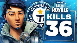 WORLD RECORD 36 KILL DUO SQUADS PC Fortnite Gameplay