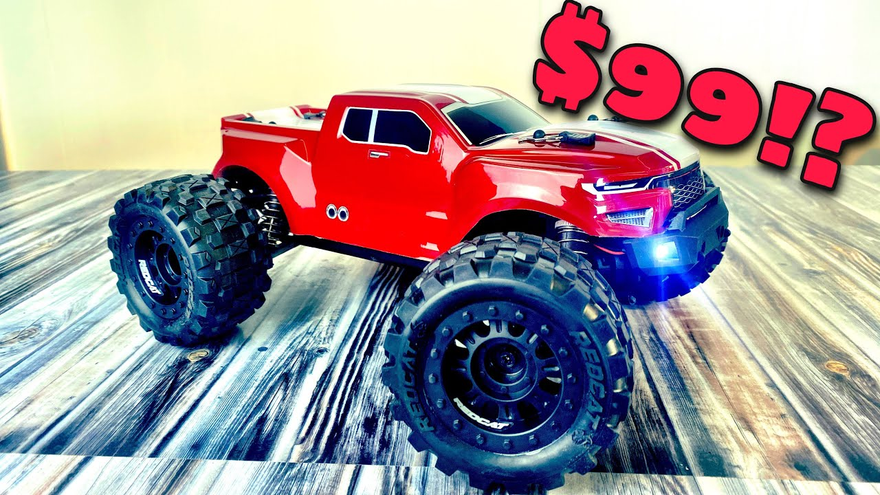 The CHEAPEST Redcat Money Can Buy! Redcat Volcano 16 Unbox and Bash!
